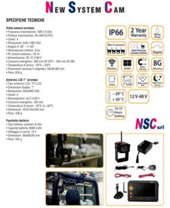 Sistema video per carrelli elevatori
